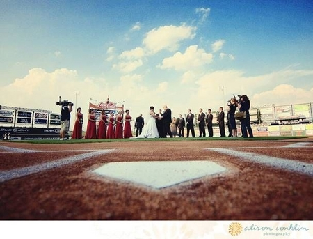 Lehigh Valley -- Wedding from Home Plate.JPG