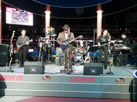 Indy -- Lucas Oil -- Band.JPG