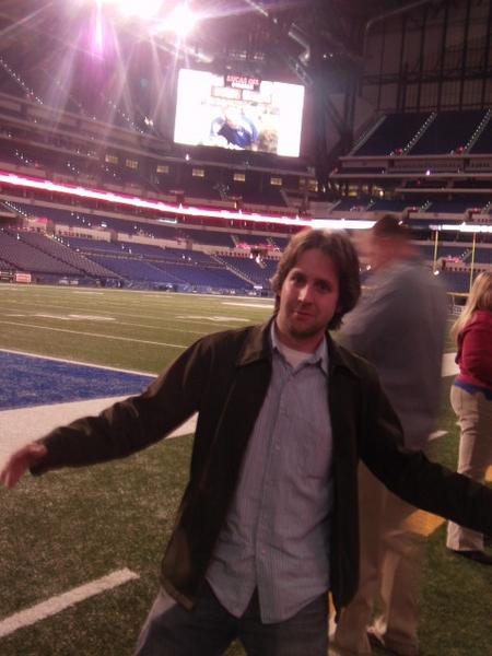 Indy -- Lucas Oil -- Tour -- Me On Field.JPG