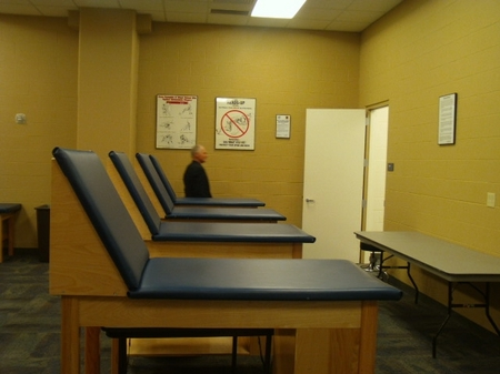 Indy -- Lucas Oil -- Tour -- Training Room.JPG