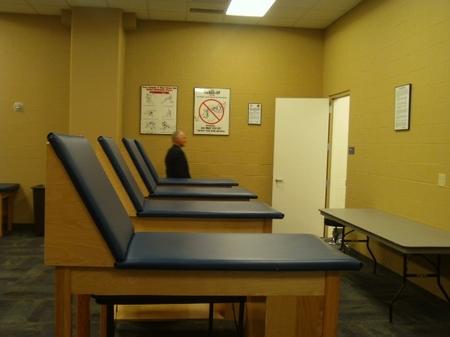 Indy -- Lucas Oil -- Tour -- Training Room.JPG