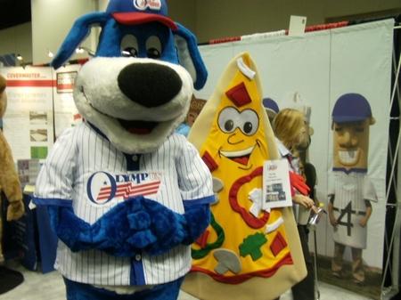 Indy -- Trade Show -- Racing Mascots.JPG