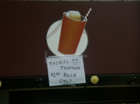 baybears thirsty thursday.JPG