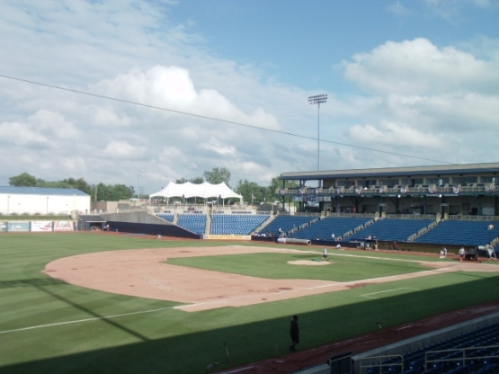 Classic Park, home of the Lake County Captains (photo: Ben's Biz)