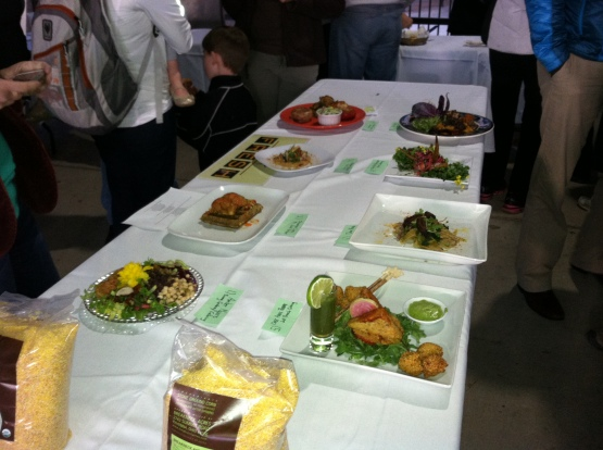 All Eight Vegan Iron Chef Dishes