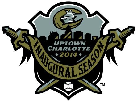 Charlotte Knights Inaugural Season Logo