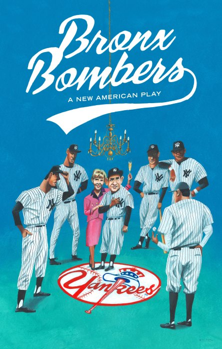 Bronx Bombers poster by Mark Ulriksen