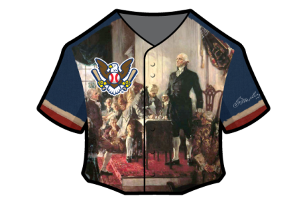 ratification of the Constitution theme jersey