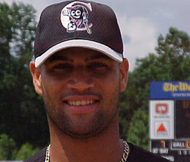 Pujols during his Minor League days.