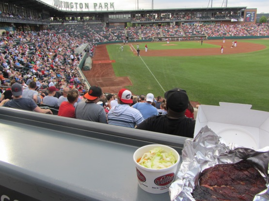 Bens Biz file photo: Ribs at the Clippers game