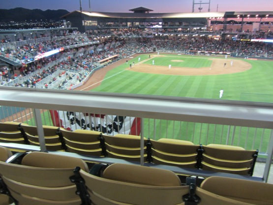 Southwest University Park in El Paso (Ben's Biz file photo)