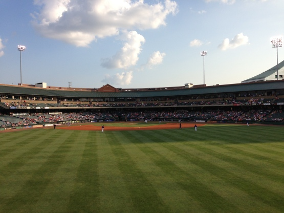 Louisville Slugger Field (Ben's Biz file photo)