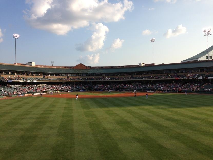Louisville Slugger Field (Ben's Biz file photo)
