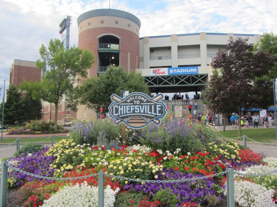 NBT Bank Stadium, home of the Syracuse Chiefs (Ben's Biz file photo)