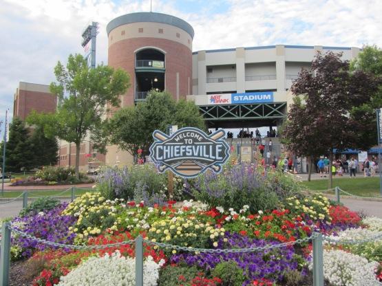 NBT Bank Stadium, home of the Syracuse Chiefs (Ben's Biz file photo)