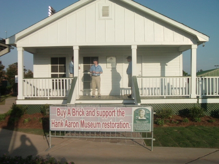 The Hank Aaron Childhood Home and Museum