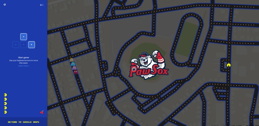 pawtucket red sox map
