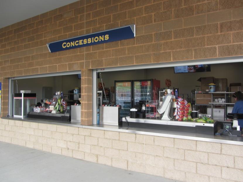West Virginia Black Bears concessions: Small on signage, big on taste