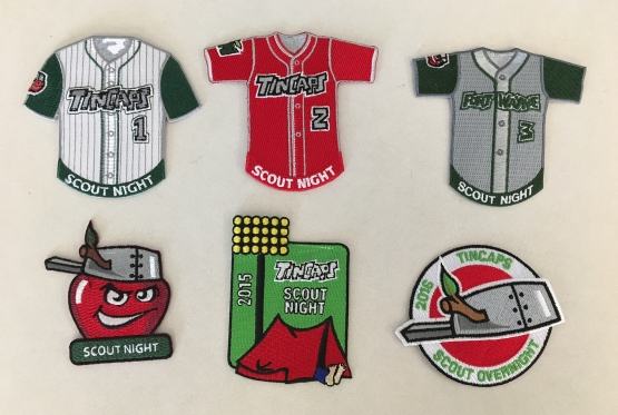 TinCaps Scout Patches