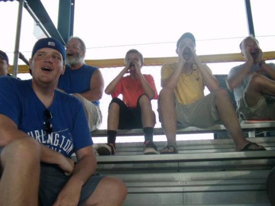 Burlington heckling squad, 2011. I hope to see them again.