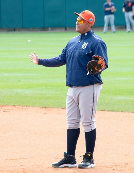 Picture 2 - Miguel Cabrera Enjoys Infield Practice