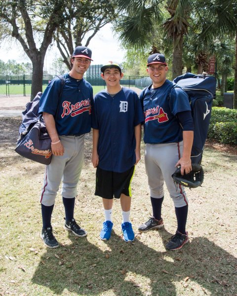 Picture 3 - With Dansby Swanson & Trey Keegan
